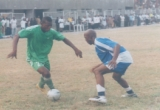 Odemwingie (left) in action for Nigeria