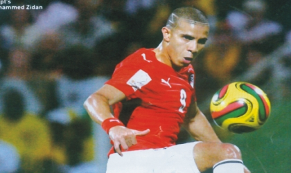 Mohammed Zidan, who led the lines for Egypt, yesterday