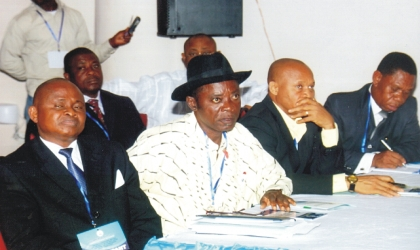 Cross section of Permanent Secretaries at the one-day stakeholders meeting on draft Water Sanitation and Hygiene (WASH) policy of Rivers State, at the conference hall, Ministry of Justice,  Monday