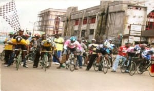 Cyclists set for national tournament in Port Harcourt recently.