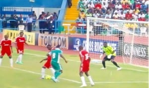 Super Eagles in one of their encounters