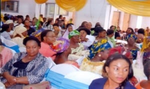 Cross section of  women, during a public function in Port Harcourt, recently. Photo: Nwuieh Donatus Ken