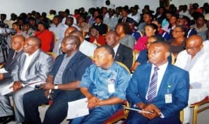 Cross section of federal civil servants in Rivers State during an interactive session in Port Harcourt last. Photo: NAN