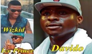 Davido, Wizkid And Ice Prince