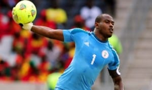 Enyeama in action.