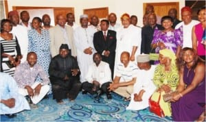 Members of the 18th Regular Course of the Nigerian Foreign Service Academy during their 2013 Annual Dinner in Abuja last Saturday.