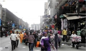 Commercial activities resume at Idmota Market, after Christmas break in Lagos, last Friday.