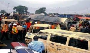 Oil tanker recently caught fire in Lagos, causing unprecedented devastation.