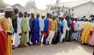 People queuing to register as APC members at Lere North Ward in Tafawa Balewa LGA of Bauchi State, last Friday. Photo: NAN