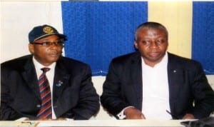 President,Rotary Club of Port Harcourt D1940, Rtn Chidi Ikeji (left) and Rtn Edmund Anufuro, during the Public Health Programme at Rotary Centre, Port Harcourt, recently.