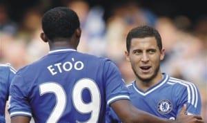 Eto'o and Hazard