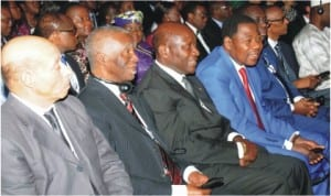 World Leaders at the opening of 2014 World Economic Forum on Africa in Abuja, yesterday