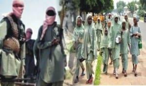 The kidnapped Chibok girls.