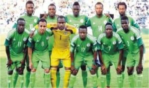 Super Eagles of Nigeria lineup in a recent match