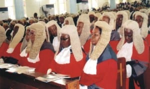 Cross section of Rivers State Judges during a public function in Port Harcourt, recently. Photo: Nwiueh Donatus Ken.