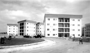 Rivers State Golf Estate under construction along Peter Odili Road, Port Harcourt.