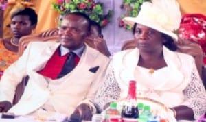 Rev and Mrs Celestine Ndukwe during their Silver Jubilee marriage celebration