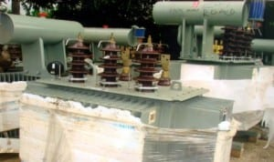 Some transformers donated by the lawmaker representing Oyigbo in the Rivers State House of Assembly, Hon. Okechukwu . A. Nwuogu