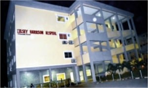 The Kelsey Harrison Specialist Hospital built by Rivers State Government, in Port Harcourt