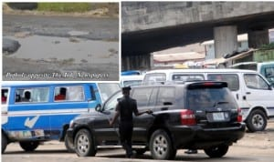 Police using the bad spot opposite The Tide to harass  motorists