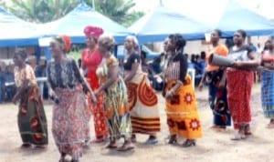 Ogba Women in a cultural dance
