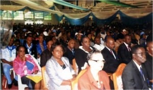 Civil servants during the Civil Service Week in Port Harcourt, recently.