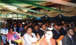 Civil Servants during the Civil Service week in Port Harcourt, recently. Photo: Obina Prince Dele
