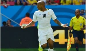 Ghana Andre Ayew is expected to lead the Black Stars of Ghnana against the Cranes of Uganda next month