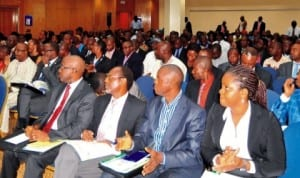 Participants at a  Summit on Stamp duties act in Abuja recently.