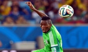 Super Eagles Kenneth Omeruo, one of the early birds in Calabar