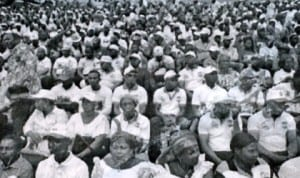 Cross section of participants at the South-South Zonal rally organised by Transformation Ambassadors of Nigeria in Port Harcourt recently. Photo: NAN