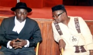 Former Speaker,  Rivers State House of Assembly and a former Commissioner in the State, Rt Hon Stephen Ezekwem (left),  with the former Deputy Speaker, Hon Hike Orji, during the Valedictory session organised by the State House of Assembly  in honour of the first Speaker of the Assembly, Late Chief  R.R. Briggs on the floor of the House last Friday. Photo: Chris Monyanaga