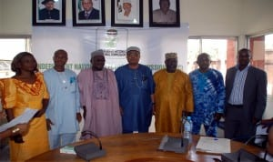 IPAC Chairman, Chief (Dr) Davies Ibiamu Ikanya (middle), with other members of the newly-elected Executive Committee in Port Harcourt.