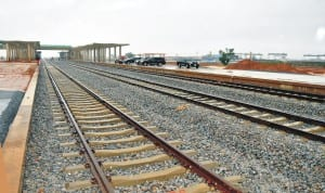 Abuja-Kaduna Light Rail during inspection by the Chairman, Subsidy Reinvestment and Empowerment Programme (Sure-p), Retired Gen. Martin Lurther-Agwai, in Abuja recently.     Photo: NAN