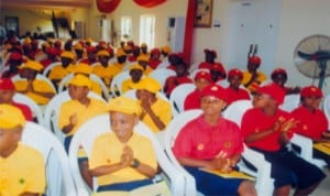 Cross section of beneficiaries, during cradle to career scholarship scheme organised by Shell Petroleum Development Company at Brookstone School, Igwuruta, Port Harcourt. Photo: Obinna Prince Dele
