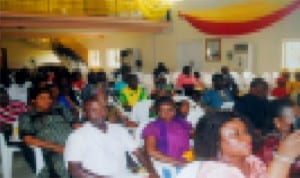 Cross section of participants during the Cradle to Career Scholarship Scheme organised by Shell Petroleum Development Company (SPDC) in Port Harcourt recently. Photo: Obinna Prince Dele