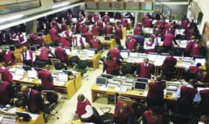 Trading floor of Nigerian Stock Exchange (NSE)