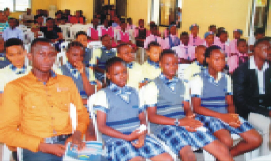 A cross section of participants at the inter-school debate competition for schools in Port Harcourt City Local Government Council held recently. Photo: Prince Dele Obinna