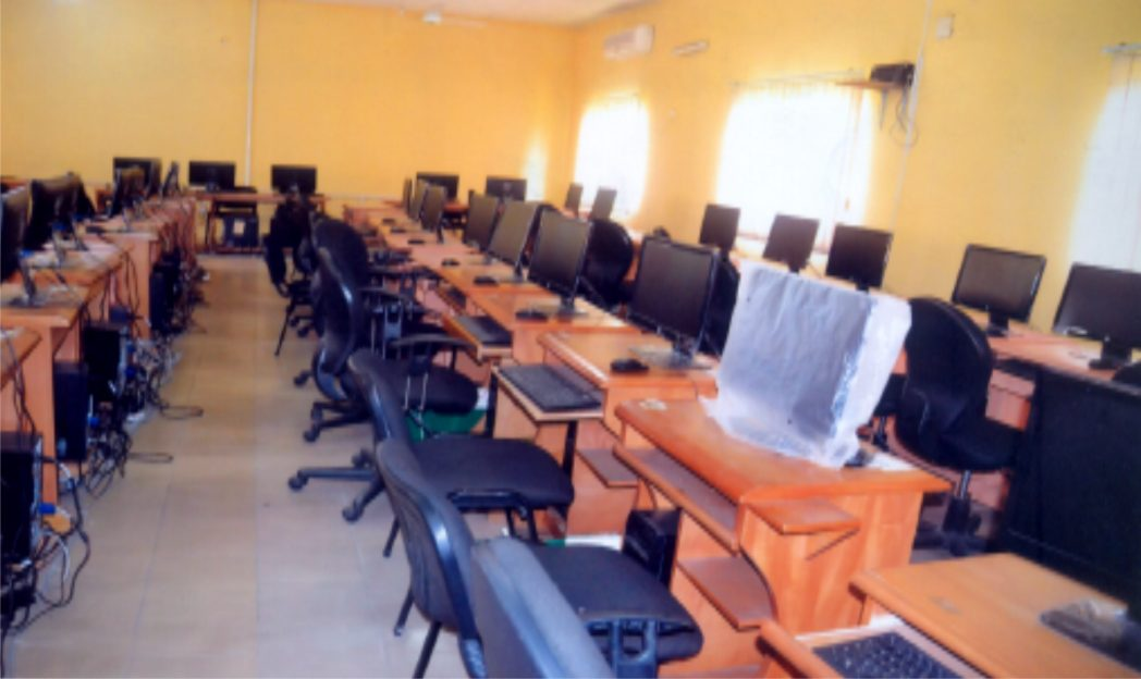 Part of the Computer Section of the Rivers State University of Science and Technology Port Harcourt. Photo: Chris Monyanaga