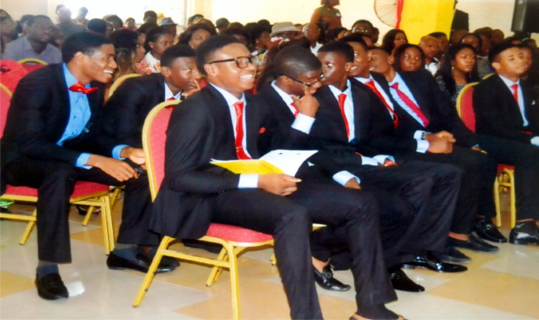 Cross Section of graduands during the 3rd Bloombread High  School graduation,  recently. Photo: Nwiueh Donatus Ken