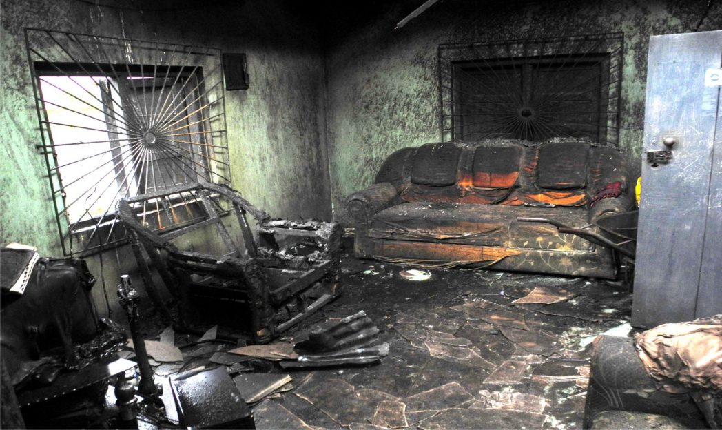 Some of the properties of Mrs Francisca Adumanu, a Widow whose House was Burnt Down in Umuchoke Village Obazu Mbieri Autonomous Community in Imo State.
