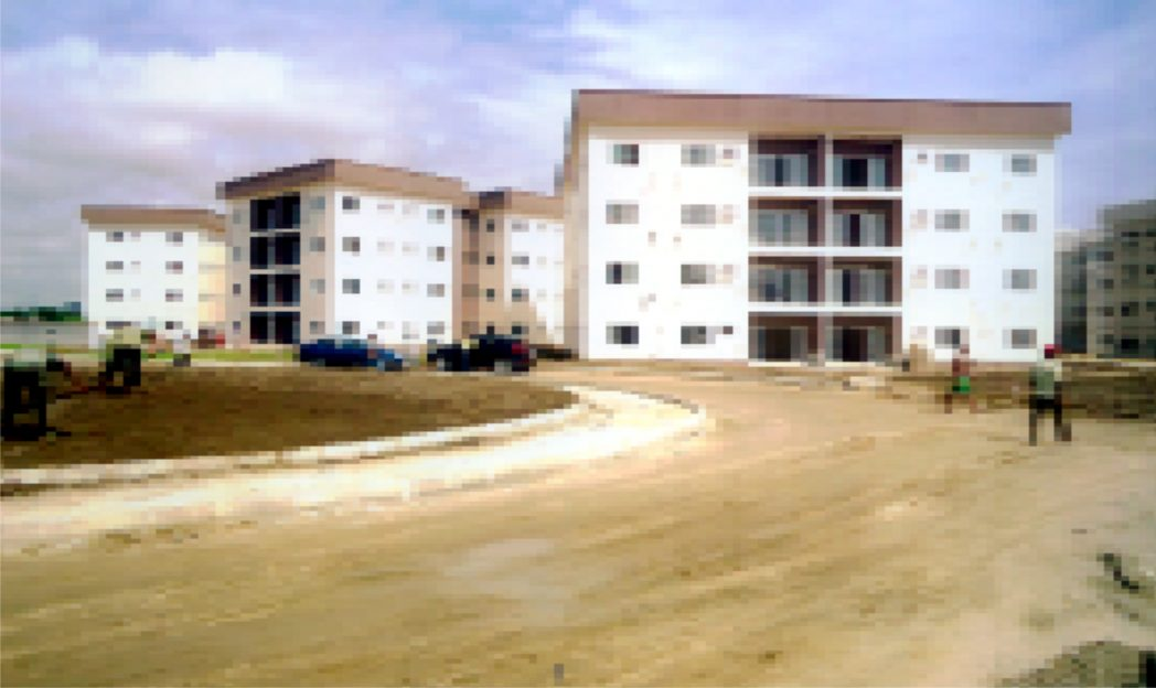 First Phase of Rivers State Golf Estate near completion at Peter Odili Road, Port Harcourt.