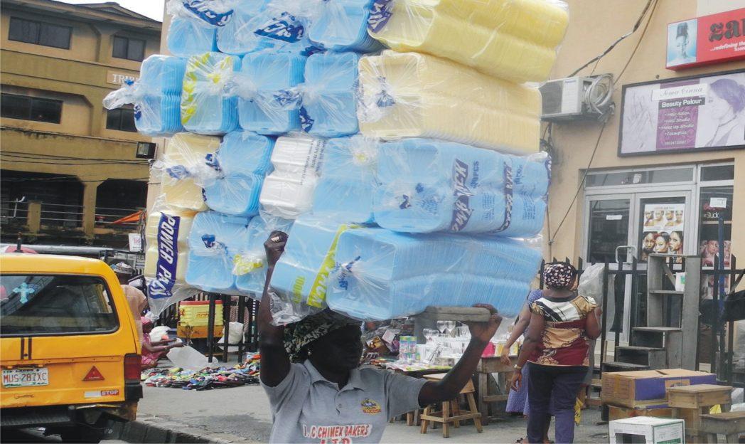 Commercial activities at Balogun Market in Lagos recently. Photo: NAN
