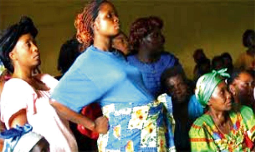 Pregnant women in postnatal class