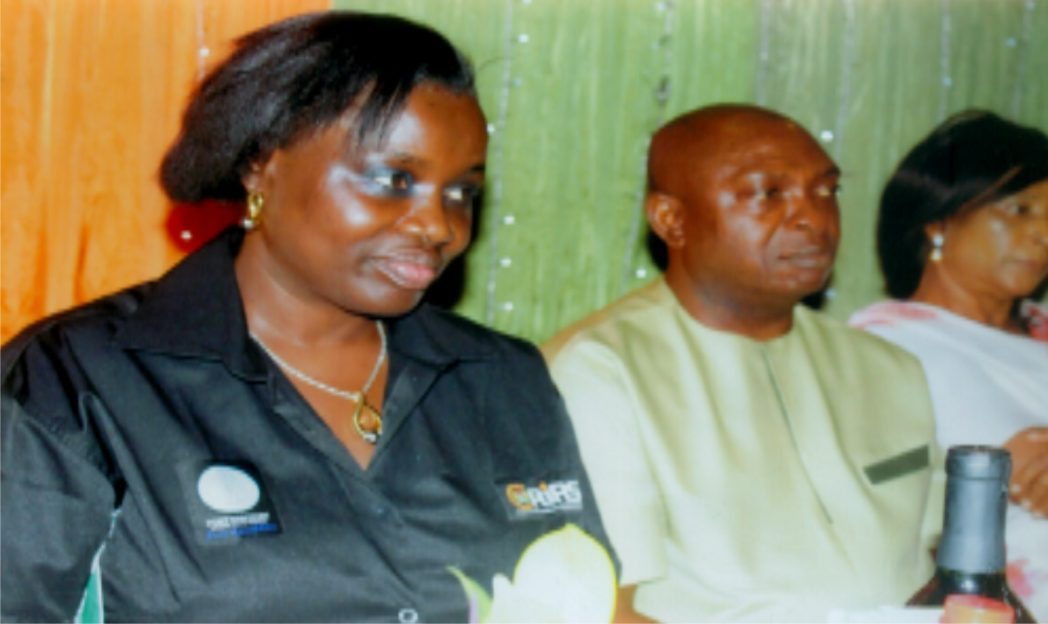 L-R: Executive  Chairman, Rivers State Internal Revenue  Service,  Onene Osila Obele-Oshoko, board member,  Christian Ogbowu and Mrs Tams Fiberesima-Peters, during the media dinner organised  by RIRS.  in  Port Harcourt, recently. Pix Egberi A. Sampson