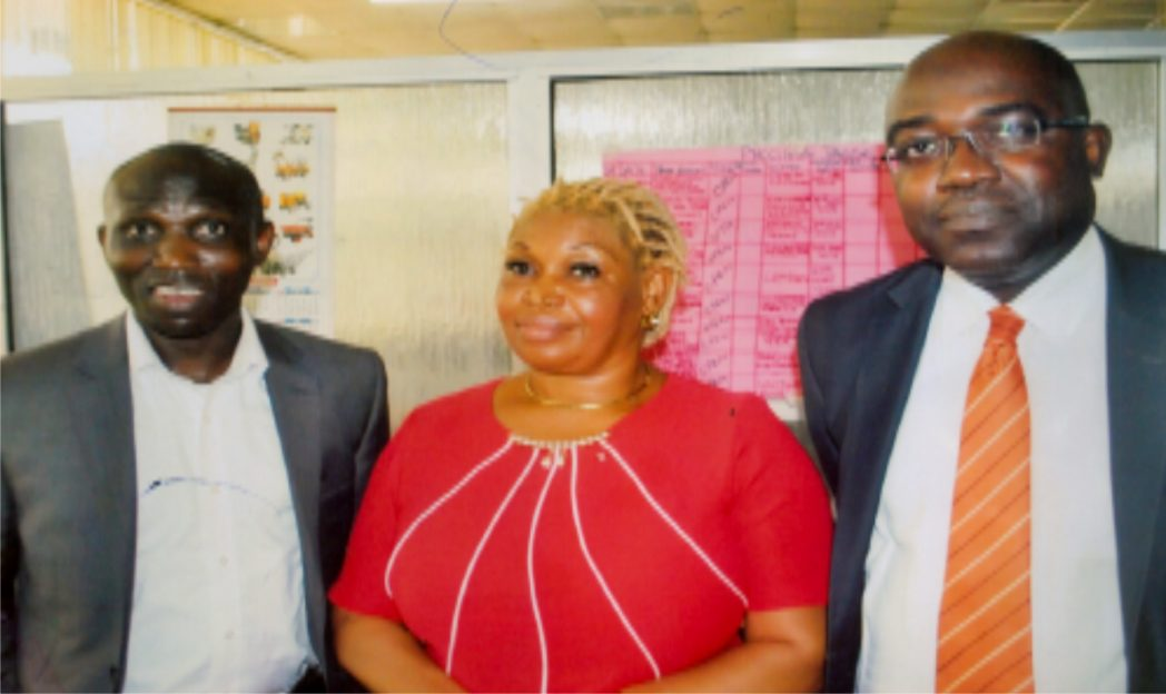 L-R: Chief Executive Officer/Managing Director, CRU-Network Ltd, United Kingdom, Dr. Raphael Mena Okrike, Treasurer/Head of Foreign Misions,  PHCCIMA, Mrs Stella Agada and Mr. Kunle  Ajagbe, during PHCCIMA's council meeting  in Port Harcourt recently. Photo:  Prince Obinna Dele