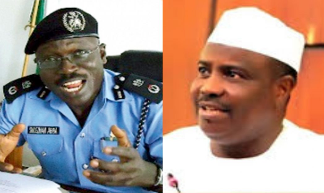 Suleiman Abba, IGP And Tambuwal, Speaker, House of Reps