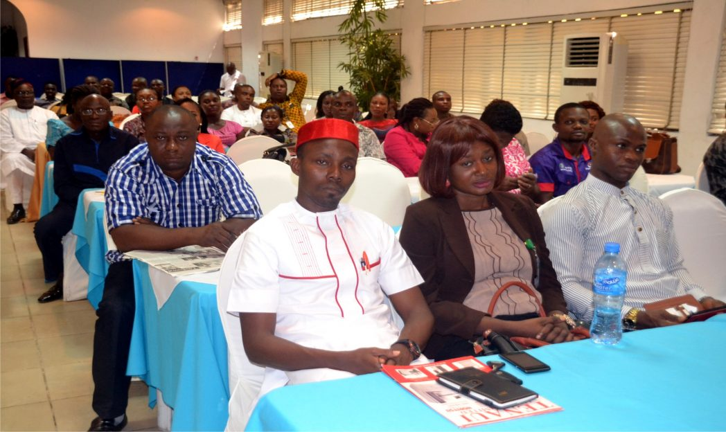 Cross section of participants at the launch of a book titled 26 Leadership Laws of Transforming the Workplace in Port Harcourt last Friday. Pix: Nwiueh Donatus Ken