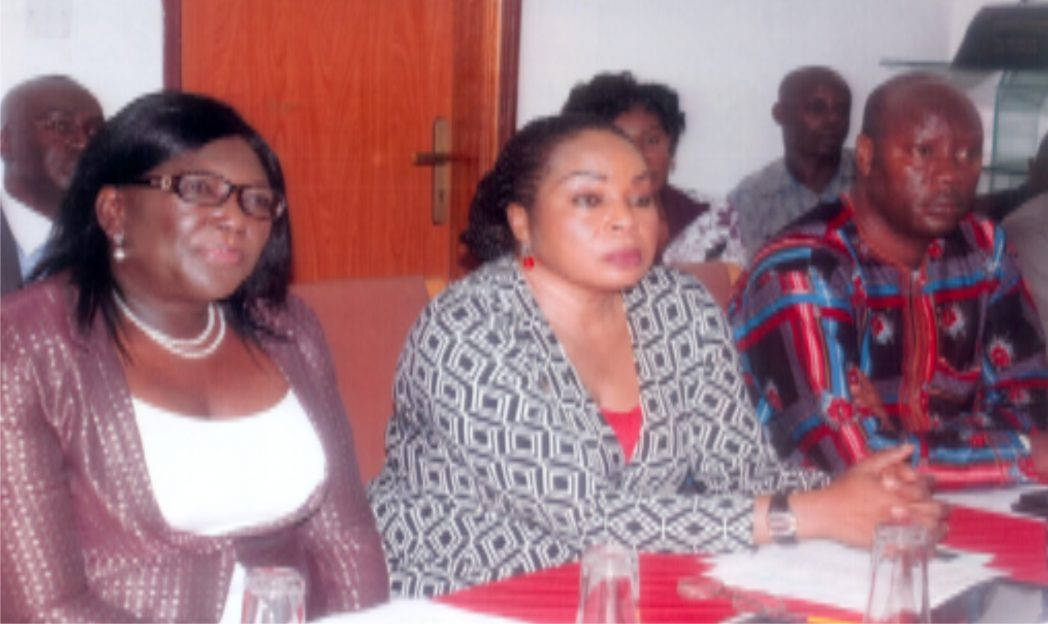 L-R: Permanent Secretary, Minsiry of Information and Communciations, Rivers State, Mrs Cordelia Peterside, General Manager, Radio Rivers, Ms Medline Tador, chariaman Nigeria Union of Journalists (NUJ) Rivers State, Mr Opaka Dokubo during one day capacity building workshop for Broadcast Journalist, organised by Radio Rivers at Meridian Hotels, Rumuobiakani Port Harcourt on 8th December, 2014.            Photo: Egberi .A. Sampson