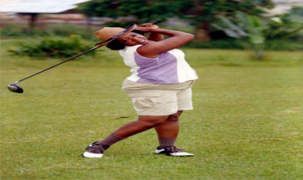 Lady Captain Airassault Golf club Port Harcourt, Princess Joyce Nule